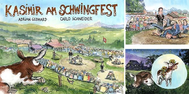 Kasimir am Schwingfest