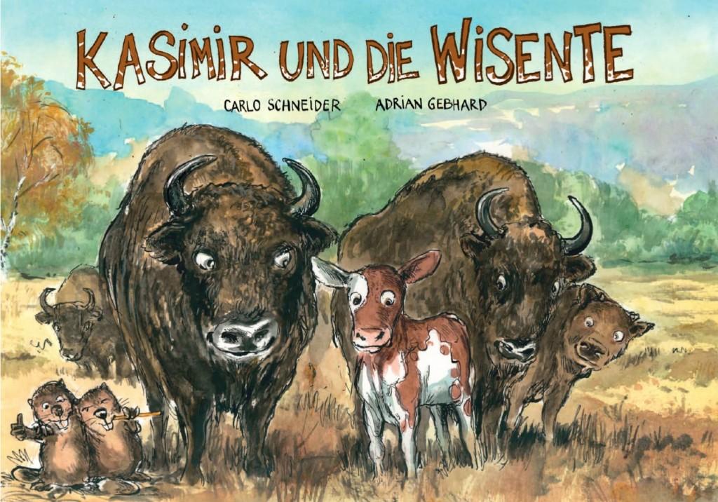 Kasimir und die Wisente